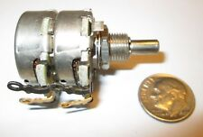 CTS DUAL LINEAR TAPER POTENTIOMETER  100K /  750K  NOS