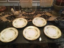 "VINTAGE NORITAKE ""ANCONA"" 10"" Dinner Plates(Set of 5)"
