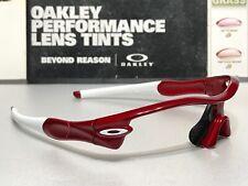 Oakley Radar Path Straight Stem Metallic Red w/ White Oakey Icons - Brand New