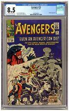 Avengers 14 (CGC 8.5) Captain America Iron Man Giant-Man Thor Wasp Kirby C390