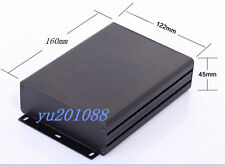 DIY Aluminum Project Box Enclosure Case Electronic Black 160x122x45mm(L*W*H)