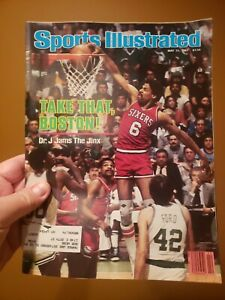 """Sports Illustrated May 31, 1982 """"Dr. J."""" Julius Erving cover"""