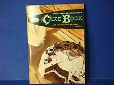 Goodhousekeeping's 1958 Cookbook,PB,Cake Book Decorating Ideas Many Occassions
