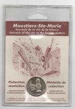 Médaille de collection Moustier Ste Marie sous blister