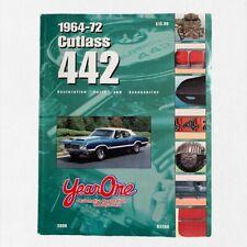 1964-72 Cutlass 442 Year One Restoration Parts & Accesories Catalog