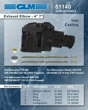 "Mercruiser 262 305 350 454 502 4"" Riser Elbow GLM 51140 oe 8079882A"