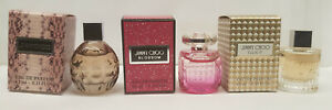 JIMMY CHOO MINIATURES EAU DE PARFUM Collection Triple Set of 4.5ml Bottles