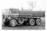 rp17745 - Wharf Transport Co of Stockport Foden Lorry JA 7048 - photograph 6x4