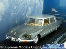 CITROEN DS 21 CHAPRON CHARLES DE GAULLE MODEL CAR 1:43 NOREV PRESIDENTIAL K8