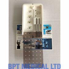 Bausch & Lomb technolas XP microkeratome 2 maniglia di aspirazione ZXP10679TPV e Custodia 3