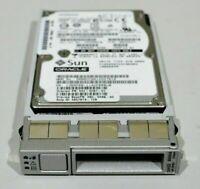 "Sun Oracle 600GB 2.5"" SAS 6Gb/s 10K Hard Drive HDD 542-0287-01 + 2.5"" Caddy"