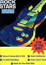 ROCK STARS 5 of the Best HITS Sheet Music Book EAGLES Elton John T-REX