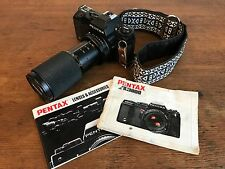 Pentax A3000 35mm Film Camera with Vivitar 70-210mm Macro Focusing Zoom Lens HD6