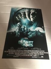 Mark Wahlberg Signed Movie Poster: Planet Of The Apes 12x18 Autographed n Person