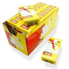 20 x SWAN SLIM FILTER TIPS CIGARETTE SMOKING PRE-CUT POP A TIP 2040 FULL BOX UK