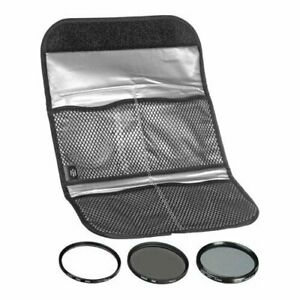 Hoya 82mm Digital Filter Kit II - Slim UV, Cir-PL, ND8 Filters & Case HK-DG82-II