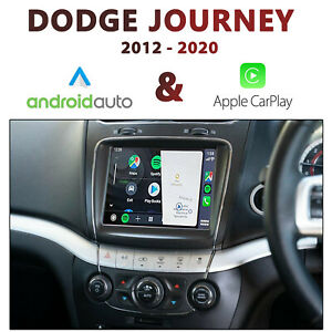 Dodge Journey Uconnect 8.4 - Apple CarPlay & Android auto Integration