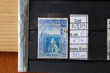FRANCOBOLLI ITALIA REPUBBLICA USATI N. 654 (A28319)