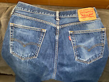 "VINTAGE Good LEVI""S Blue 505 XX Straight Leg Jeans 33 x 30 Made in the USA"
