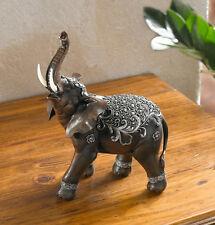 Deko-Figur indischer Elefant, 26cm,  Tierfigur, Skulptur
