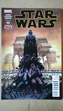 STAR WARS #2 1ST PRINT MARVEL COMICS (2015) DARTH VADER LUKE SKYWALKER HAN SOLO