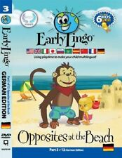 Early Lingo Opposites at The Beach DVD Part 3 German #B13