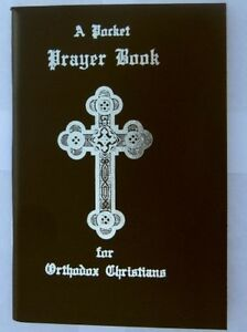 "A Pocket Prayer Book for Orthodox Christians -Black Vinyl Cover (3.5"" x 5"") -NEW"