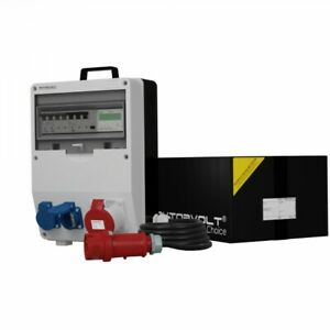 Distribution Board Power Box TD-S / Fi Skh 32A 2x230V Cable Rotation Counter