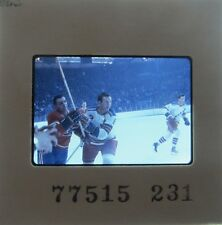 JIM DOREY  NEW YORK RANGERS Edmonton Oilers BARRONS SEALS ORIGINAL SLIDE 9