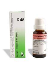 Dr. Reckeweg R45 infección de garganta, voz sorda gota remedio homeopático