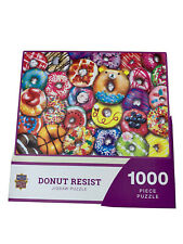 Master Pieces 1000 Piece Donut Resist Jigsaw Puzzle New-Sealed