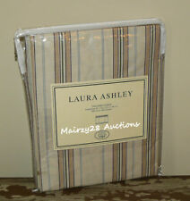 NEW Laura Ashley OLIVIA Multi STRIPE Neutral Beige WINDOW TAILORED SHADE