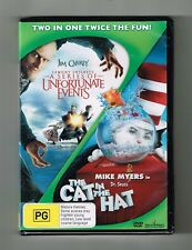 Lemony Snicket's A Series Of Unfortunate Events / The Cat In The Hat Dvds New