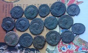 Roman x 16 includes Carausius,Allectus,Tacitas,Quintillus