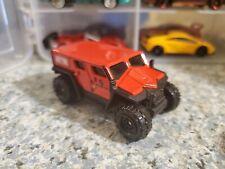 Matchbox Ghe-O Military Vehicle Red 1/64