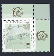 Bund Mi-Nr 1948 Ecke 2 (100+50 pf) Schwarzwälder Wassermühle ** Postfrisch 1997