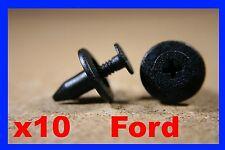 10 FORD PORTA CARD Interni Pannello Plastica Clip Di Fissaggio Push