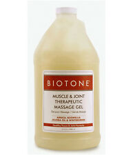 Biotone Muscle & Joint Therapeutic Massage Gel - Half Gallon (64 Ounces)
