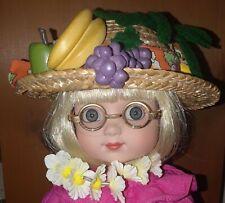 """Mary Engelbreit Ann Estelle Hawaiian Luau Aloha 10"""" Robert Tonner Doll Ukulele"""