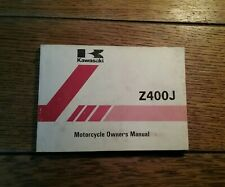 KAWASAKI Z400 J3 OWNERS  MANUAL/ HANDBOOK / BOOKLET