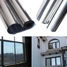 Reflective Window Privacy One Way Mirror Film UV Home Office Heat Insulation USA