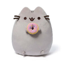 "PUSHEEN the CAT ~ PINK DONUT ~ 9 1/2"" Plush by Gund ~ NWT"