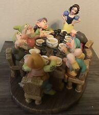 "NEW! WDCC Disney's Snow White & The Seven Dwarfs ""Soup's On"" Ltd Ed 1115/1937"