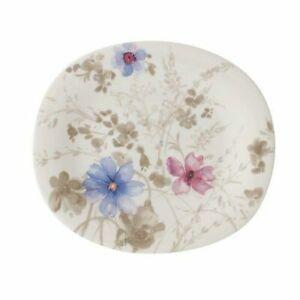 Villeroy & Boch - Oval Salad Side Plate Single / Set of 2 & 4- Mariefleur Gris