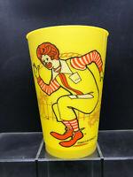 Vintage 1978 Ronald McDonald Yellow Plastic Cup