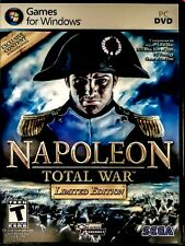 Total War Napoleon PC Limited Edition Video Game Complete Gold 2010 Tested New