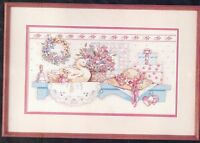 Dimensions Cross Stitch Kit Pretty Country Collectibles 1988 #3664 Karen Avery