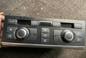 AUDI A6 C6 4F 2005-09 AIR CON AC HEATER CLIMATE CONTROL SWITCH PANEL 4F2820043P
