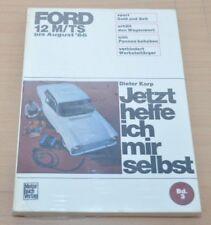 FORD 12 M TS bis August 1966 Motor Elektrik Räder Reparaturanleitung JHIMS 3