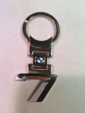 BMW 7 SERIES GENUINE CHROME KEYRING BMW KEYRING KEY RING 80 27 2 287 781